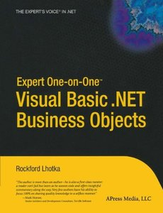 Expert One-on-One Visual Basic .NET Business Objects-cover
