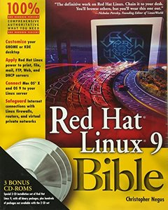 Red Hat Linux 9 Bible-cover