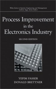 Process Improvement in the Electronics Industry, 2/e (Hardcover)-cover