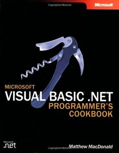 Microsoft Visual Basic .NET Programmer's Cookbook-cover