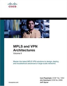 MPLS and VPN Architectures, Vol. 2 (Hardcover)-cover