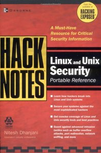 HackNotes Linux and Unix Security Portable Reference (Paperback)-cover