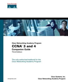 Cisco Networking Academy Program CCNA 3 and 4 Companion Guide, 3/e-cover