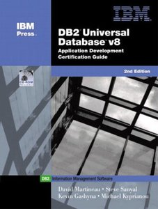 DB2 Universal Database v8 Application Development Certification Guide, 2/e-cover