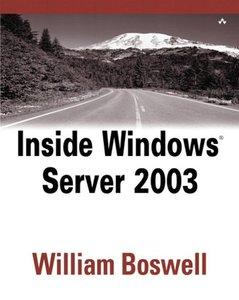 Inside Windows Server 2003, 2/e-cover