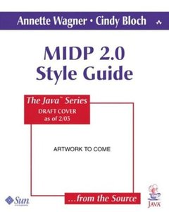 MIDP 2.0 Style Guide for the Java 2 Platform, Micro Edition (Paperback)-cover