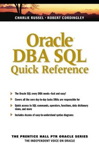 Oracle DBA SQL Quick Reference-cover