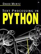 Text Processing in Python-cover