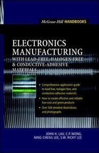 Electronics Manufacturing : with Lead-Free, Halogen-Free, and Conductive-Adhesiv-cover
