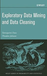 Exploratory Data Mining and Data Cleaning-cover