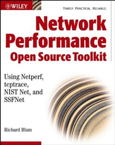 Network Performance Toolkit: Using Open Source Testing Tools (Paperback)-cover