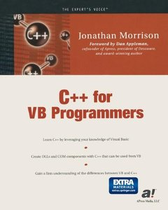 C++ for VB Programmers-cover