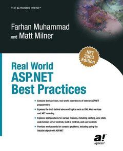 Real World ASP.NET Best Practices