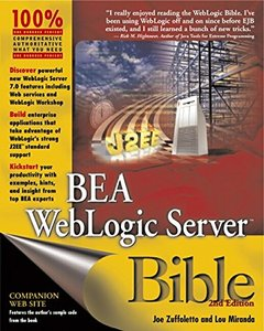 BEA WebLogic Server Bible, 2/e-cover
