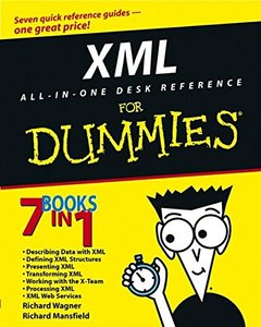 XML All-in-One Desk Reference For Dummies-cover