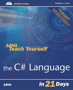 Sams Teach Yourself the C# Language in 21 Days-cover