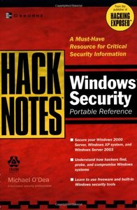 HackNotes Windows Security Portable Reference-cover
