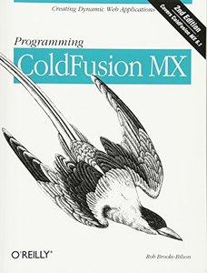 Programming ColdFusion MX, 2/e-cover