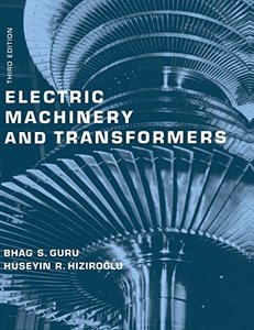 Electric Machinery and Transformers, 3/e-cover