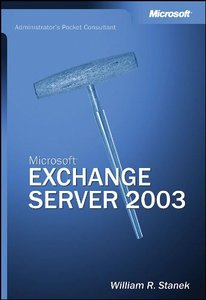 Microsoft Exchange Server 2003 Administrator's Pocket Consultant-cover