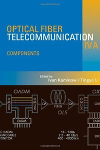 Optical Fiber Telecommunications IV-A: Components-cover