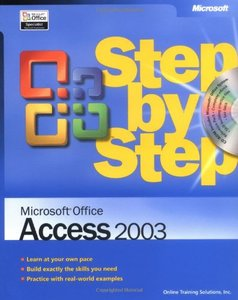 Microsoft Office Access 2003 Step by Step-cover