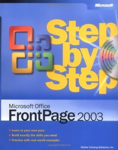 Microsoft Office FrontPage 2003 Step by Step-cover