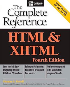 HTML & XHTML: The Complete Reference, 4/e-cover