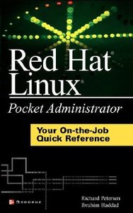 Red Hat Linux Pocket Administrator (Paperbacl)-cover