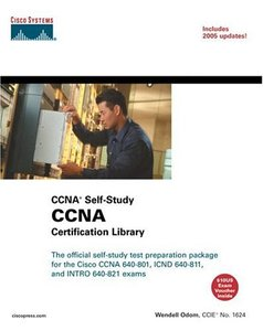CCNA Certification Library (CCNA Self-Study, exam #640-801), 6/e-cover