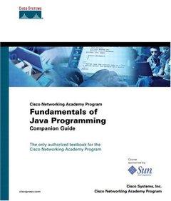 Cisco Networking Academy Program Fundamentals of Java Programming Companion Guid-cover