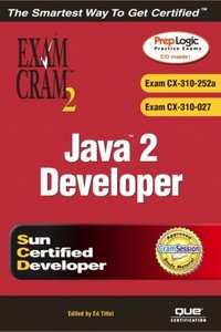 Java 2 Developer Exam Cram 2 (Exam CX-310-252a and CX-310-027)-cover
