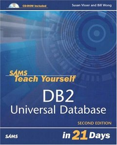 Sams Teach Yourself DB2 Universal Database in 21 Days, 2/e-cover
