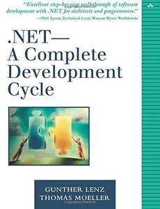 .NET-A Complete Development Cycle (Paperback)-cover