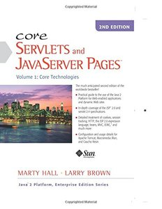Core Servlets and JavaServer Pages, Vol. 1: Core Technologies, 2/e-cover