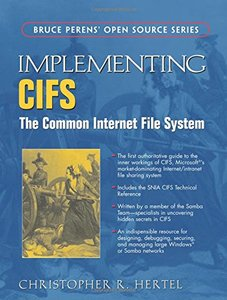 Implementing CIFS: The Common Internet File System-cover