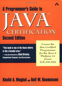 A Programmer's Guide to Java Certification: A Comprehesive Primer, 2/e (Paperback)-cover