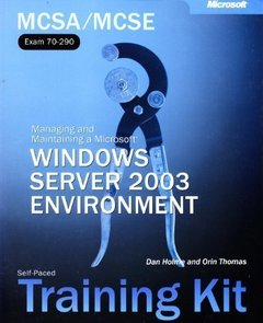 MCSE Self-Paced Training Kit: Microsoft Windows Server 2003 Core Requirements, Exams 70-290, 70-291, 70-293, 70-294-cover