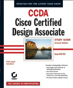 CCDA: Cisco Certified Design Associate Study Guide, 2/e (640-861)-cover