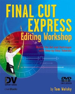 Final Cut Express Editing Workshop (Paperback)-cover