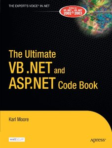 The Ultimate VB .NET and ASP.NET Code Book-cover