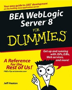 BEA WebLogic Server 8 For Dummies-cover