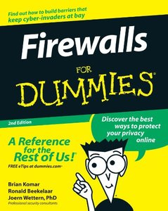 Firewalls For Dummies, 2/e-cover