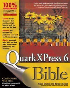 QuarkXPress 6 Bible-cover
