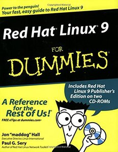 Red Hat Linux 9 For Dummies-cover