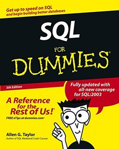 SQL For Dummies-cover