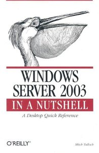 Windows Server 2003 in a Nutshell-cover