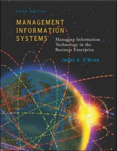 Management Information Systems, 6/e-cover