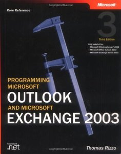 Programming Microsoft Outlook and Microsoft Exchange 2003, 3/e-cover