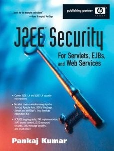 J2EE Security for Servlets, EJBs, and Web Services-cover